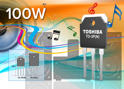 Toshiba pumps up the volume with an advanced audio transistor output amplifier