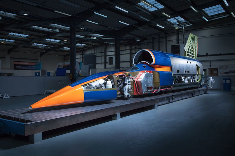 BLOODHOUND Project claims world's fastest and most advanced racing car