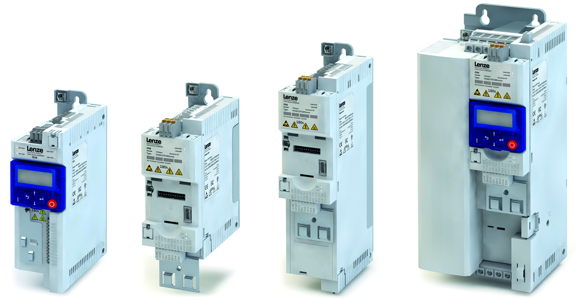 Lenze's modular i500 frequency inverters bundle leading-edge control tech