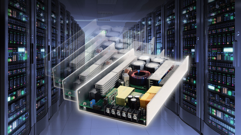 Excelsys' Xsolo ultra-compact 1,000W power supply supports high-reliability systems