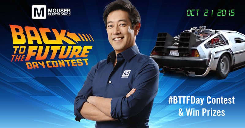 Mouser and Grant Imahara drive innovation with