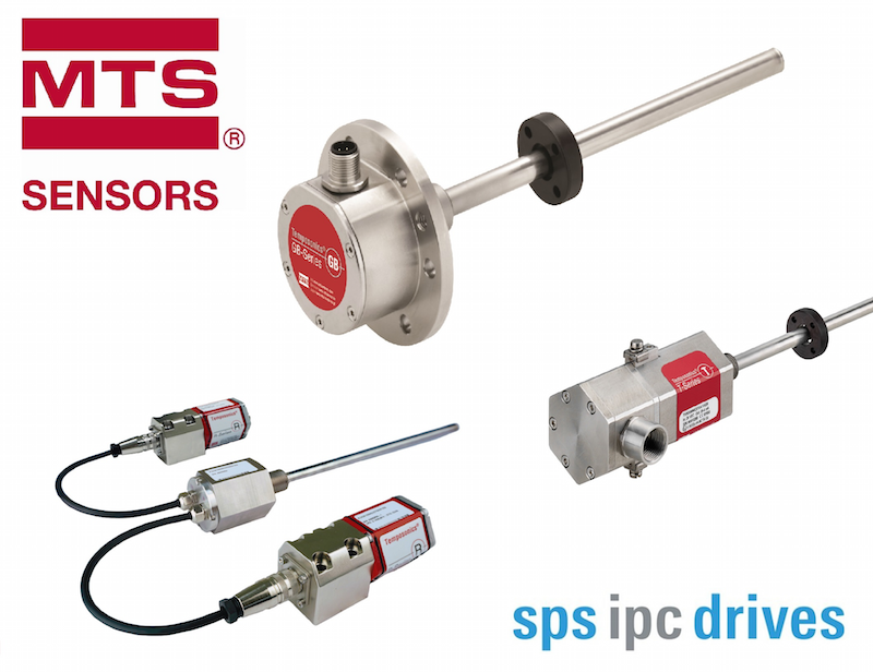 MTS presents broad range of sensor products for challenging industrial apps at SPS IPC Drives