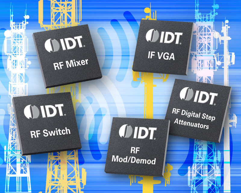 IDT taps Richardson for global distribution of RF products