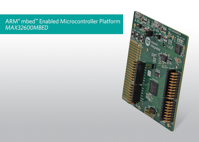 ARM mbed and Maxim MCUs enable rapid prototyping for commercial IoT deployments