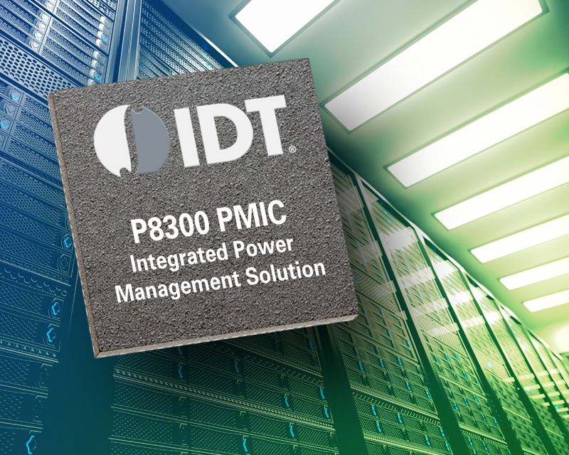 IDT introduces highly-integrated PMIC for enterprise SSD and computing apps