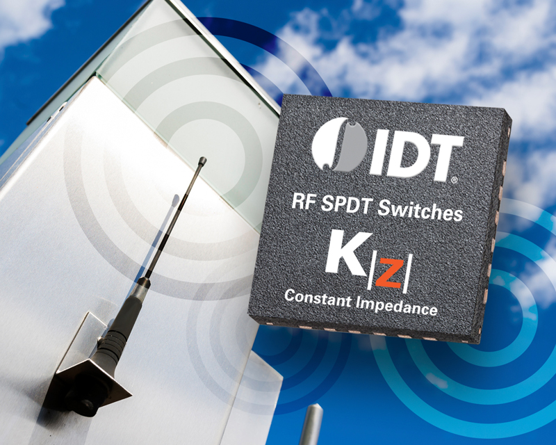 IDT's latest SPDT switch features KZ constant impedance tech