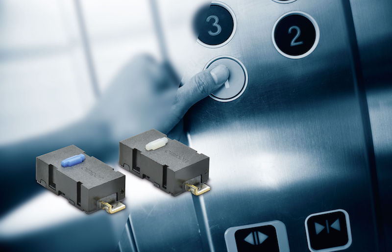 Omron's durable miniature switches can handle 5 million operations