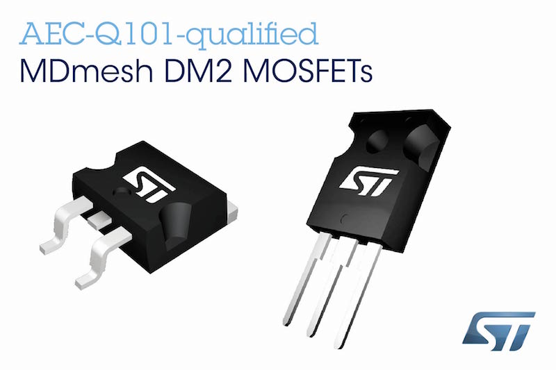 STMicro's latest power MOSFETs enable smaller, greener automotive power
