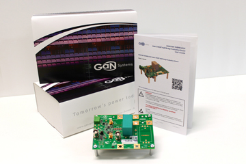 GaN Systems' half-bridge eval board simplifies GaN test