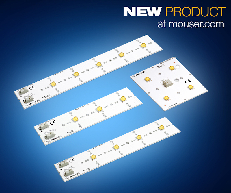 Lumileds' LUXEON XR-M LED devices now at Mouser