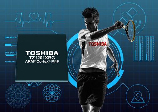 Toshiba's expanded TZ1000 application processors for wearables simplify low-power designs