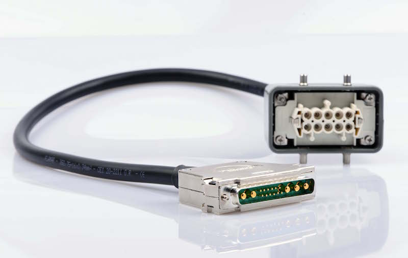 Molex offers fully-harnessed cables for heavy industrial applications