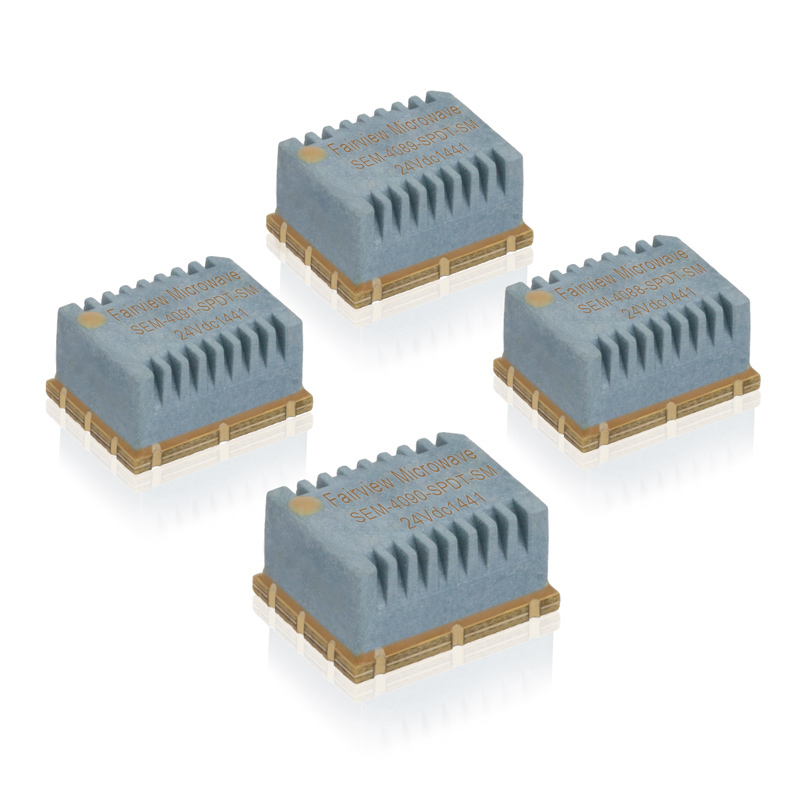 Fairview Microwave launches high-rel electromechanical switches in compact SMT packages
