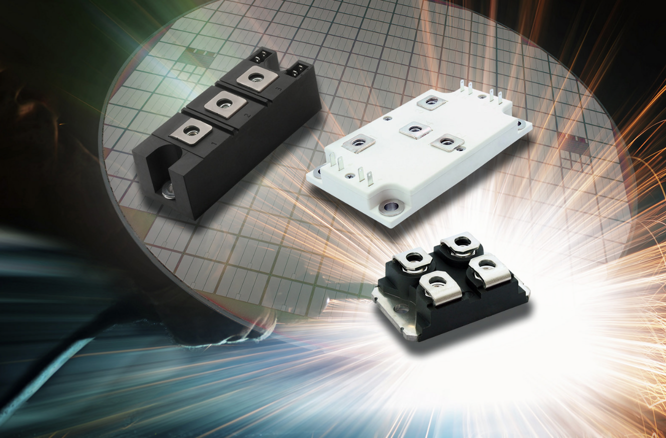 Vishay Intertechnology's IGBT power modules increase efficiency and reduce conduction losses in TIG welding