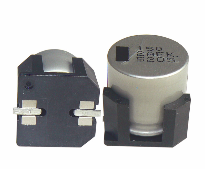Cornell Dubilier's hybrid polymer-aluminum electrolytics handle 30g with very low ESR