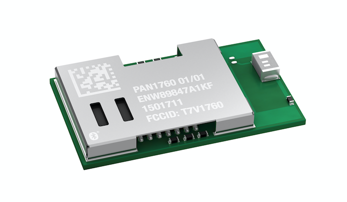Panasonic's Bluetooth smart module for IoT applications now at Rutronik