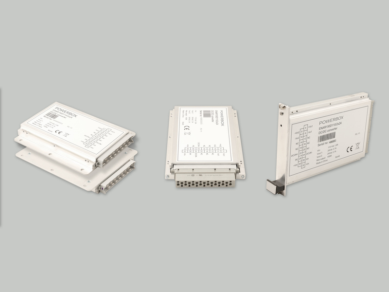 Powerbox launches high-efficiency slim power modules for demanding railway apps