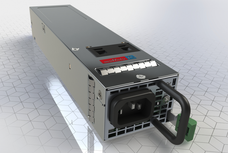 Murata expands their front-end D1U54 series power supplies with high-density 650W model