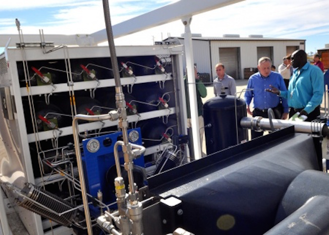 Boeing delivers reversible solid-oxide fuel cell energy storage system to the U.S. Navy for testing