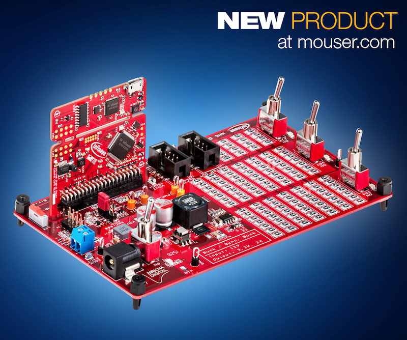 Mouser now carries the XMC Digital Power Explorer Kit