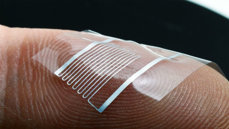 Engineers create stretchable liquid metal circuit