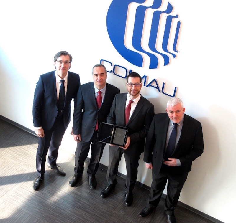 Comau wins Volvo Quality Excellence Award