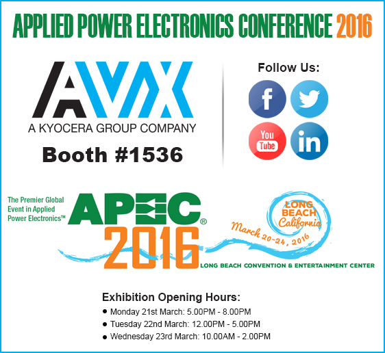 AVX to launch new products at APEC 2016