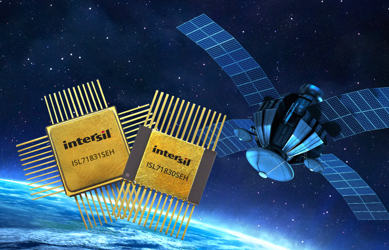Intersil's rad-tolerant 5V multiplexers deliver best-in-class performance for spaceflight