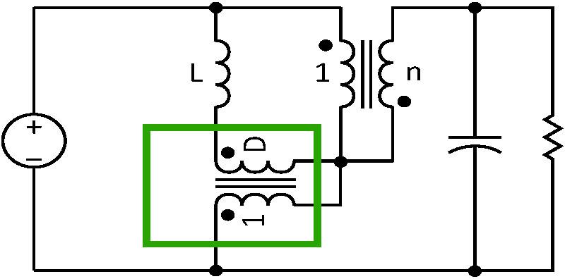tapped boost converter modeling