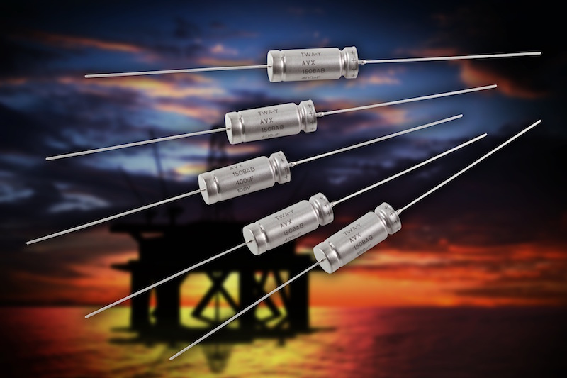 AVX extends 200°C wet tantalum capacitor series