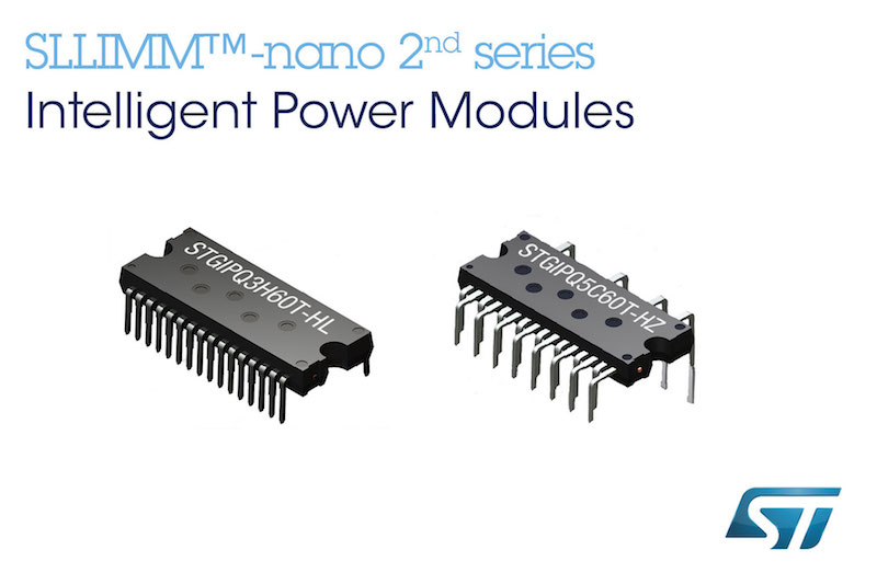 STMicro's new IPMs help low-power electric motors dissipate less power