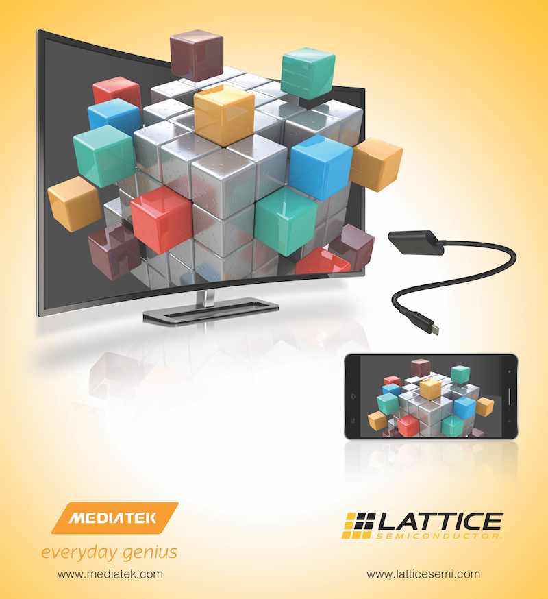 Lattice and MediaTek claim the most power-efficient 4K video over USB Type-C