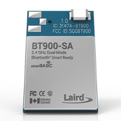 Laird's BT900 Bluetooth Smart Ready modules reduce the burden and design risk of integrating Bluetooth and Bluetooth Low Energy into any OEM device