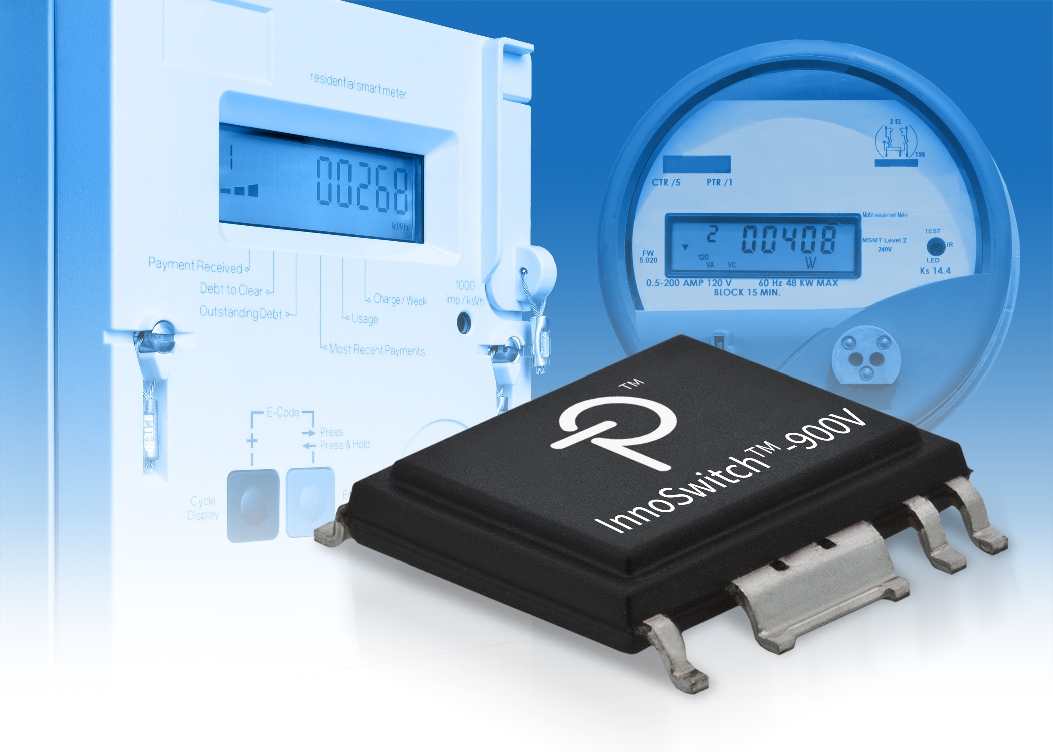 Power Integrations' 900 V InnoSwitch-EP ICs serves industrial and three-phase power supply apps