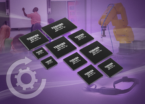 Toshiba launches ARM Cortex-M3-based MCUs for motion and consumer apps
