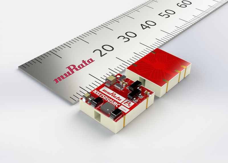 Murata's 2W converter boasts a 50% lower profile
