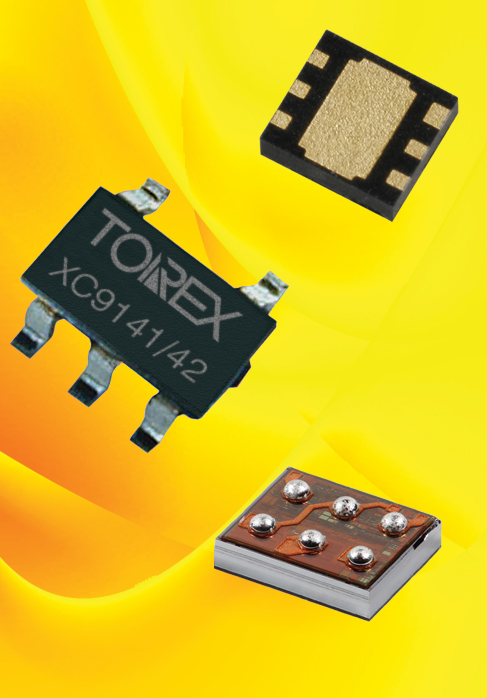 Torex's 0.8A step-up DC/DC converters serve healthcare and wearables