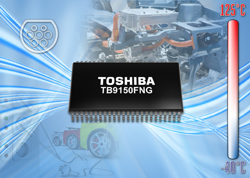Toshiba launches opto-isolated IGBT gate pre-driver IC for electric and hybrid vehicles