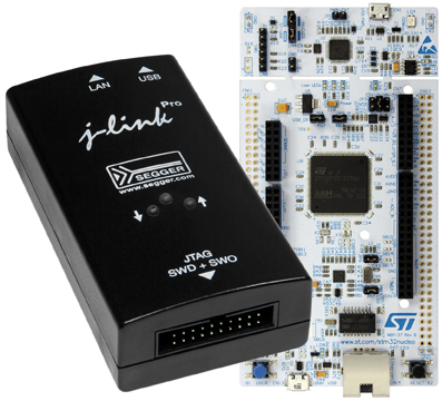 SEGGER's advanced debug tech now available for STM32 Nucleo & Discovery MCU boards