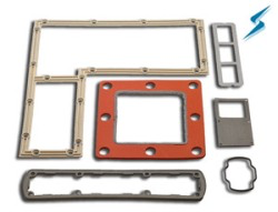 Stockwell Elastomerics' reinforced conductive silicone rubber gaskets now have new materials
