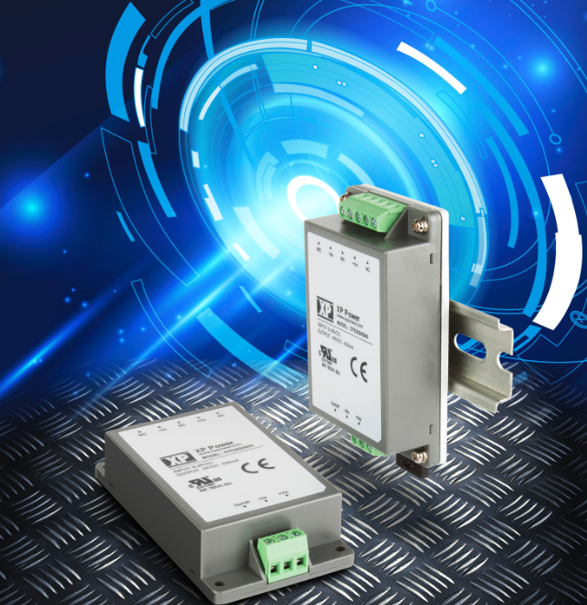 XP Power's latest encapsulated converters offer chassis or DIN-rail mounting