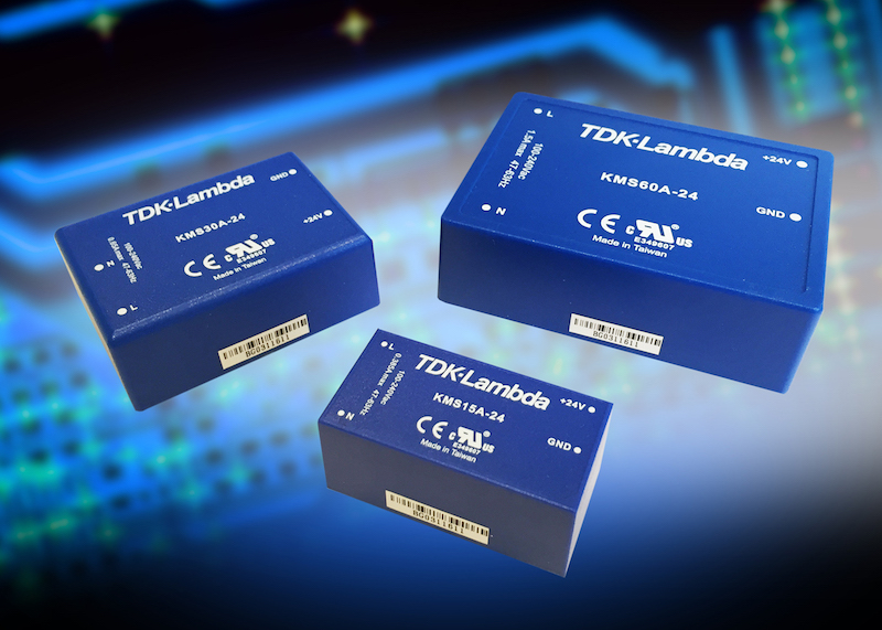 TDK's encapsulated medical supplies have Class II input