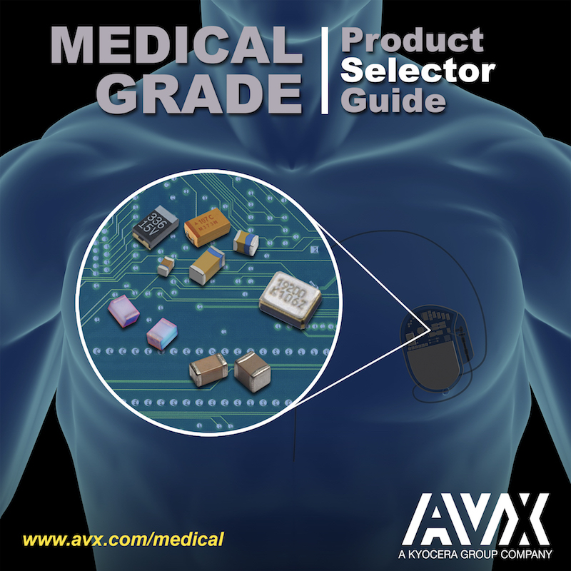 AVX releases new medical selector guide