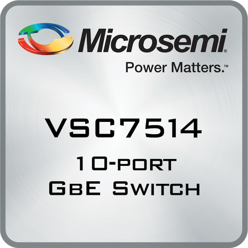 Microsemi's low-power switch family eases industrial network migration to Ethernet