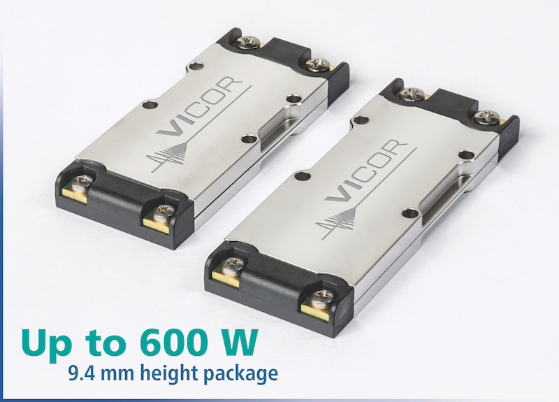 Vicor released four new DCM products in the VIA package