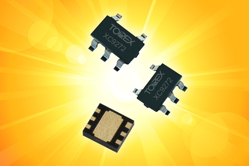 Torex's latest DC/DC converters accept under 1.0V with an ultra-low supply current