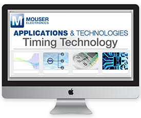 Mouser launches timing technology site
