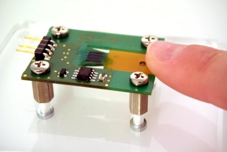 Hoffmann + Krippner unveils wire-free polymer strain gage printed onto a PCB