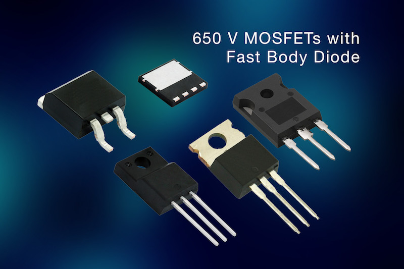Rutronik now carries 650V fast body diode MOSFETs from Vishay