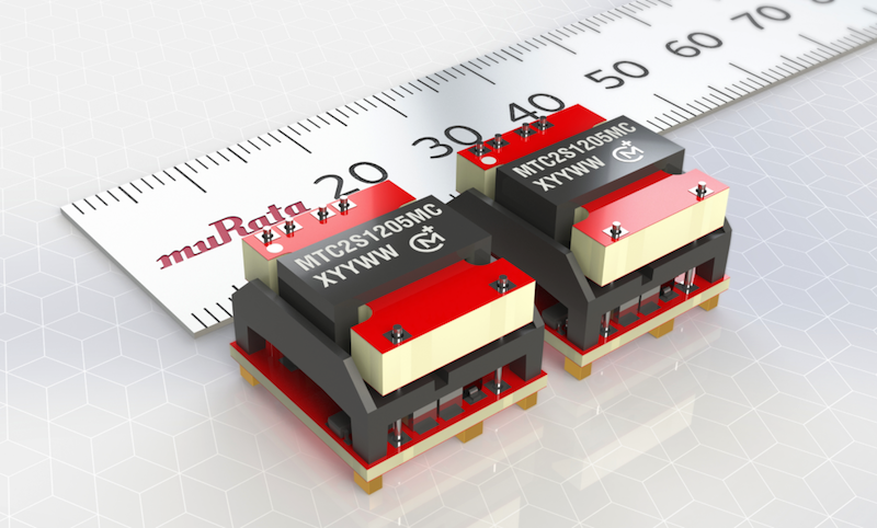 Murata's miniature 2W DC-DC converter has medical safety standard 2 x MOOP compliance